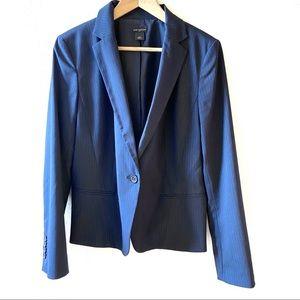 Ann Taylor dark blue black blazer